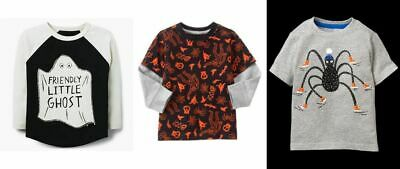 NEW Gymboree boys Halloween long short sleeve tee size 2T 3T 4T 5T NWT YOU PICK