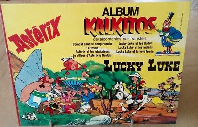 ASTERIX  LUCKY LUKE Album Kalkitos 1979