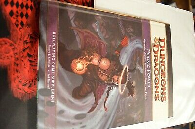 D&D Psionic Power 4th ed brand NEW dungeons & dragons