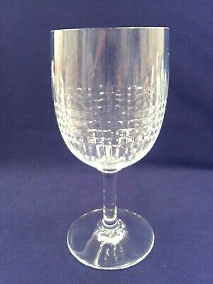 "BACCARAT CRYSTAL NANCY TALL WATER GOBLET  6 3/4"" x 3"""