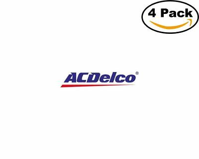ac delco 4 Stickers 4x4 Inches Sticker Decal