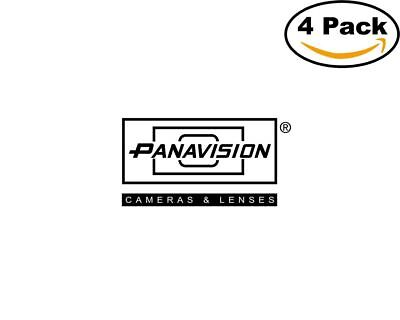 Panavision 4 Stickers 4X4 inches Sticker Decal