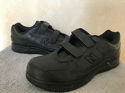 e704bde9f6540 NEW BALANCE Men's Walking Shoes Velcro Made in USA MW576VK Black Size 12 EE
