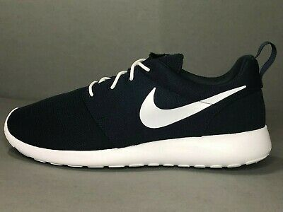 edc78fe4a8a3 Nike Roshe One Mens Running Athletic Shoes Navy White 511881-423 Size 10.5