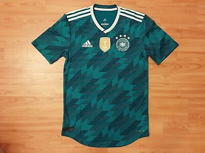 15a18d2fd88 adidas 2018-19 Germany Authentic Climachill PLAYER ISSUE Away Soccer Jersey  BNWT