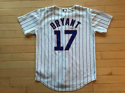 best service 83c07 529f6 CHICAGO CUBS MLB Baseball Majestic Cool Base Jersey #17 Kris ...