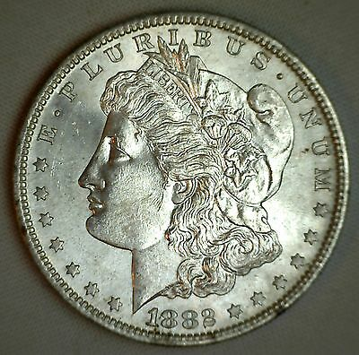 1882S Morgan de Plata una Dólar Moneda San Francisco que No Ha Circulado # Jc