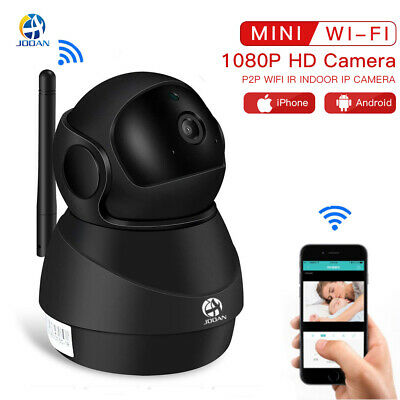 JOOAN Wireless WIFI 1080P Pan Tilt Security IP Camera IR Night CCTV Home Webcam