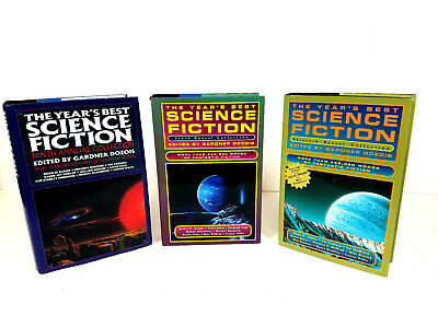 The Years Best Science Fiction 3 Book Lot Ninth, Tenth, Eleventh