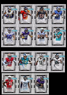2019 FIVE STAR 19 DROP 2 SILVER BASE SET OF 15 COOK/BUTLER+ Topps Huddle Digital