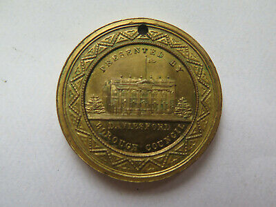 1897 DAYLESFORD BOROUGH COUNCIL VIC QUEEN VICTORIA JUBILEE MEDALET 1837 to 1897