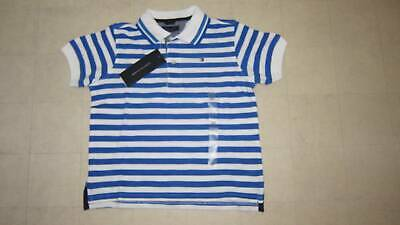 Tommy Hilfiger Striped Polo Shirt For Boys Red Sz 2T - NWT $29.50