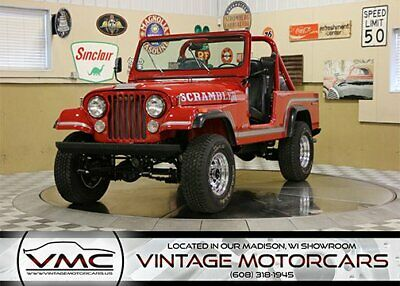 1985 Jeep CJ-8 Scrambler Rust Free! - Restored -  Power Steering - Power Brakes - 4x4