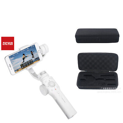 ZHIYUN Gimbal Smooth 4 3-Axis Stabilizer For iphone Xs Samsung LG Camera White