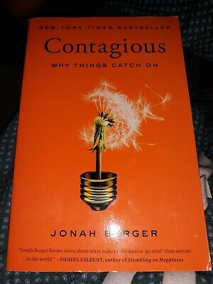 Contagious : Why Things Catch On by Jonah Berger (2016, Paperback)