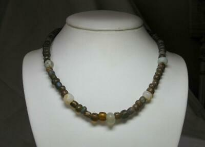 Authentic Ancient Roman Glass Bead Necklace 2000 Years Old 1st - 3rd Century AD