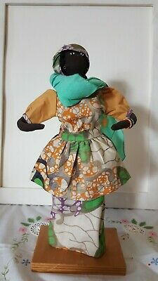 African Doll- Purchased In France