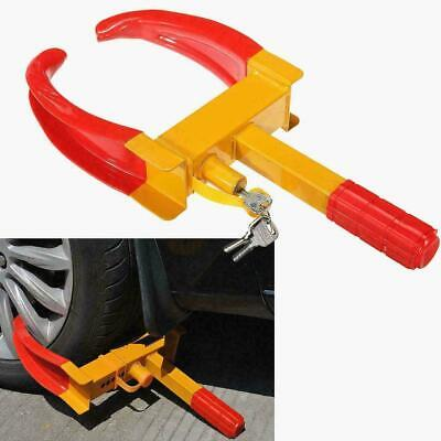 Security Heavy Duty Wheel Clamp Anti-Theft Lock Caravan Car PROMOTION