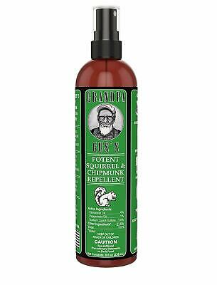 Natural Potent Squirrel and Chipmunk Repellent Spray (8oz)