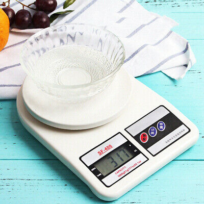 Kitchen Scale Digital 10000g Postal Electronic Weights Scales Food 10kg/1g OZ