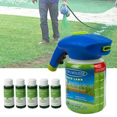 Hydro Mousse Household Seeding System Liquid Spray Seed Lawn Care Grass-Sho L2U7