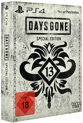 Days gone Special Steelbook Edition + Dlc (Ps4) (Nip) (Uncut) (Express Shipping)