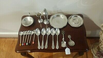 Vintage silver plated ( mix 18 Pieces )