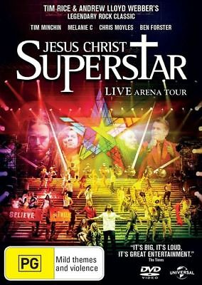 Jesus Christ Superstar: LIVE Arena Tour DVD MUSICAL TOP 250 MOVIES BRAND NEW R4