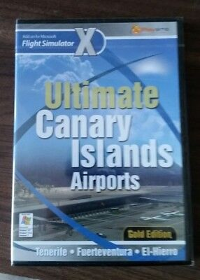 ULTIMATE CANARY ISLANDS AIRPORTS Gold Pc Add-On Flight