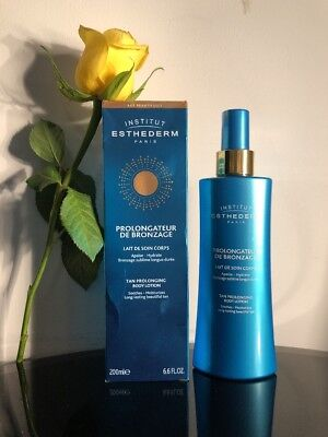 New Institute Esthederm Tan Prolonging Body Lotion Moisturiser 200ml