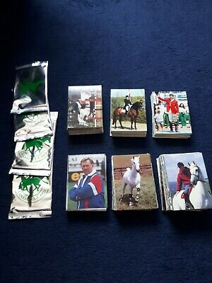 Equestrian collect a card Trading Card full set 275 cards