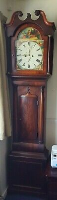 Scottish Long Case Grandfather Clock