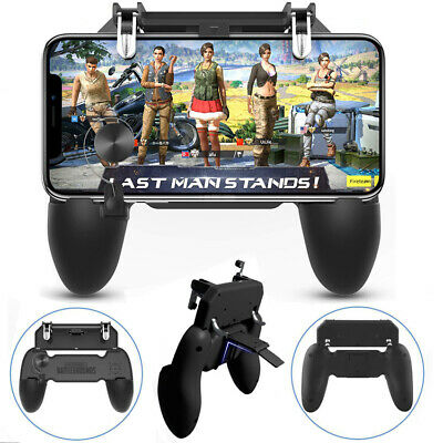 Mobile Wireless W11+ Gamepad Remote Controller Joystick for iPhone Samsung PUBG