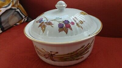 Royal Worcester Evesham Design Oven to Table ware lidded dish