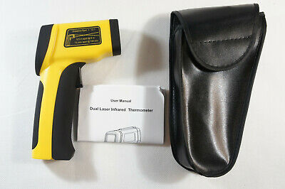 Double Laser Non-contact Digital Infrared Thermometer Pyrometer -58~1922°F