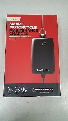 Halfords Motorcycle Battery Smart Maintenance Charger