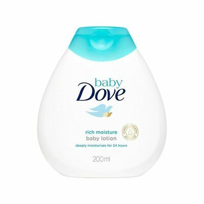 Gentle Moisturizing Skin Baby Dove Lotion Rich Moisture For 24 Hrs, 200ml, 3 PCS
