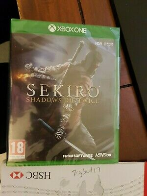 Sekiro Shadows Die Twice (Xbox One)  NEW AND SEALED - IN STOCK - QUICK DISPATCH