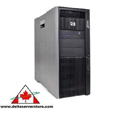 12 Core HP Z800 Workstation 2x X5670 2.93Ghz  1Tb HDD , 24Gb to 192Gb RAM