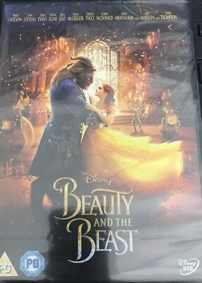 Beauty and The Beast movie DVD.Sealed with free delivery.