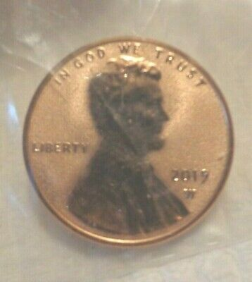 2019 W Lincoln Cent Penny Premium Reverse Proof Coin  IN STOCK READY TO SHIP