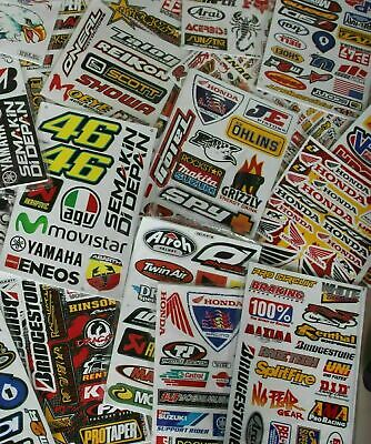 Mx Mts Superx Drag X Racing Sticker Decals 6 Large Sheets Fast Postage
