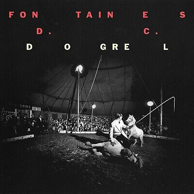 FONTAINES D.C. - Dogrel like new CD