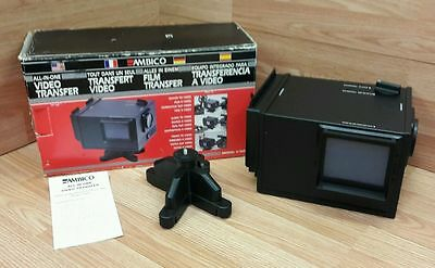 Ambico (V-0651) All-in-One Movies, Slides, Prints to Video Transfer System READ