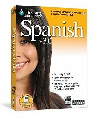 Topics Entertainment Instant Immersion Spanish 3 (PC, Mac) 2,000 Written Entries