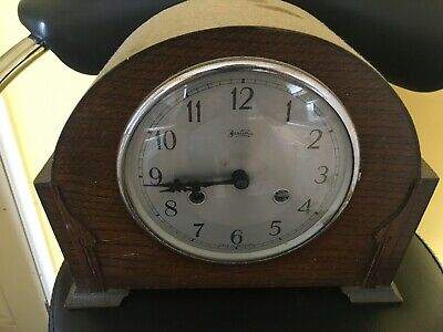 Bentima PERIVALE Westminster Chime mantle Clock Needs Fixing