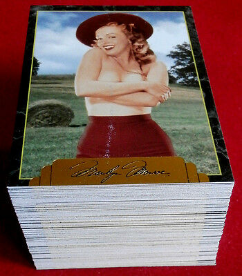 """""""Sports Time"""" MARILYN MONROE Series 2, Complete Base Set of 100 cards, (101-200)"""
