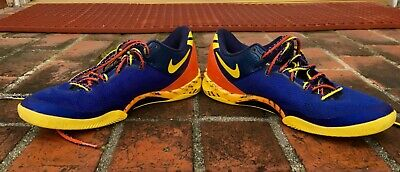 b4be683f9238 NIKE ZOOM 2013 Kobe 8 VIII System Blitz Blue Crimson Red Sz 10 ...