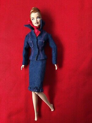Joe Tai Denim suit and scarf for FR Royalty bodies