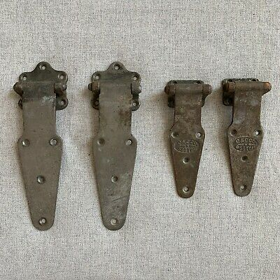 Vintage Hinges Non Magnetic - Large - Uncleaned Original Patinas